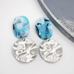 Azure earrings