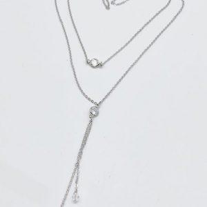 Sparkler necklace