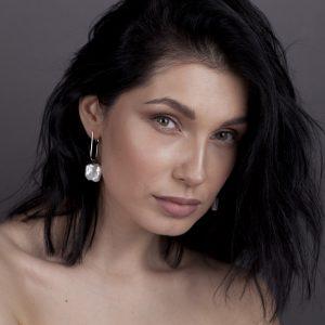 Venus earrings Silver
