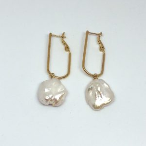 Venus earrings gold