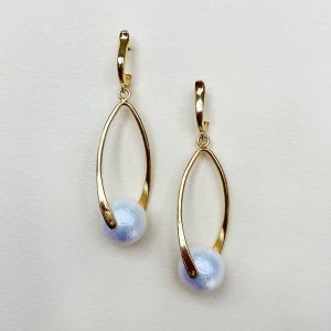 Lynx earrings gold